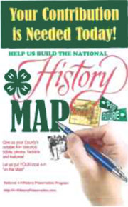 4-H History Map Poster