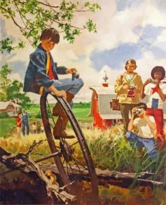 1975 4-H Calendar Art